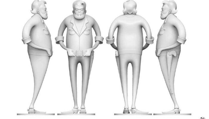 Illustrazione 3D